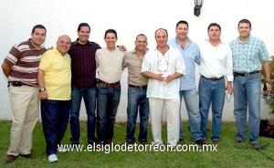 09062009 Gabino, Honorio, Samuel, Jorge, Osvaldo, Daniel, Carlos, Armando y Carlos.