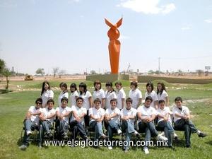 07062009 Alumnos de secundaria de la UAL que concluyeron sus estudios.