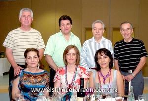 16062009 Matías y Graciela Romo, Alejandro y Marina García, Celso Reyes, Ignacio y Lucero Méndez.  EL SIGLO DE TORREÓN / JESÚS HERNÁNDEZ