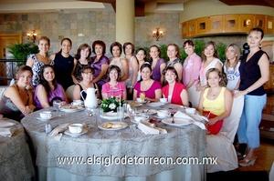 12062009 Club de damas reunidas para despedir a Gloria Martínez de García, por su cambio de residencia.