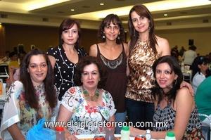 22062009 Nora, Lorena, María Luisa, Mónica, Lety y Diana.