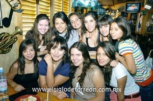19062009 Jimena Alejandra Ávila Yáñez cumplió 17 años y los celebró junto a Anilú, Mariana, Ane, Cristy, Lizeth, Astrid, Nora, Maryfer y Coqui.