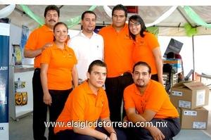 21062009 Martín Martínez, Gladis Cuevas, Daniel González, Lizander Santana, Daniela Nava, Cuauhtémoc Balderas y Carlos Verástegui.