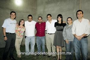 28062009 Carlos y Fernanda González, Jorge y Homero del Bosque, Ricardo Cisneros, Selene Anguiano, Ana del Bosque y Samuel Zugasti.