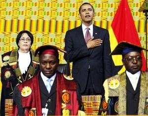 Obama destacó la importancia que representa que exista una nueva alianza entre Africa y el mundo occidental para el futuro de las próximas generaciones africanas.