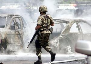Los agentes repelieron la agresión y se suscitó una persecución que concluyó con dos presuntos sicarios muertos y uno más herido.