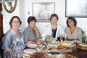 HerlindaMurra, Lela Pereyra, Patricia Zermeño y Socorro Salinas.