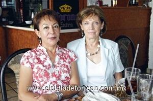 Coco Esguerra y Lucy Palazuelos.