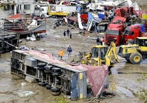 Las intensas lluvias y las graves inundaciones que afectan al noroeste de Turquía, en torno a la ciudad de Estambul, han causado más de 30 muertos en los últimos dos días.