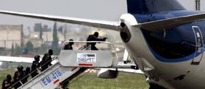 Las autoridades reportaron que no se encontró ninguna bomba en el vuelo 576 de la aerolínea mexicana.