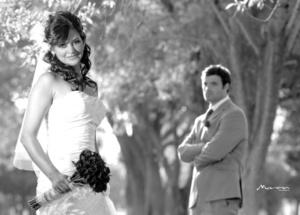 Srita. Iliana Garza Piñera y Sr. Patrick Corcoran, unieron sus vidas en sagrado matrimonio en la iglesia de San Pedro Apóstol, el 25 de julio de 2009. <p> <i>Estudio Morán</i>