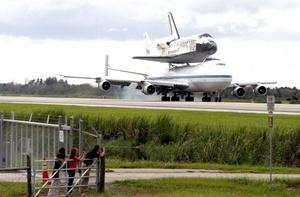 El Discovery cubrió en esa travesía más de 9.1 millones de kilómetros.