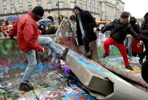 Alemania celebra el 20º aniversario de la caída del Muro de Berlín con una gran 'Fiesta de la Libertad'.