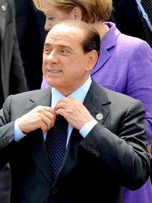 El controversial primer ministro de Italia, Silvio Berlusconi, es el 12 más influyente, con todo y sus escándalos que involucran prostitutas y fiestas con chicas desnudas.