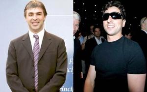 Sergey Brin y Larry Page, los dueños de Google, ocupan el quinto lugar por su poderoso buscador y ramificaciones.