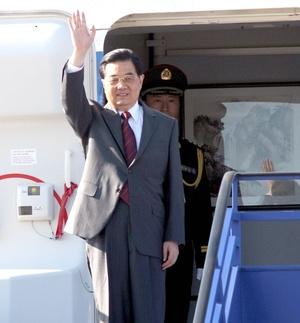 El gigante asiático, China, y su presidente Hu Jintao le siguen los pasos a Obama en el segundo sitio.