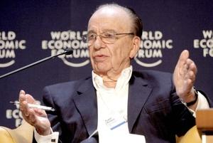 """Después de Slim, quien aparece en sexto lugar, está el dueño del imperio de los medios, Rupert Murdoch, dueño de """"The Wall Street Journal"""", """"The New York Post"""" y """"The Sun"""", entre otros."""