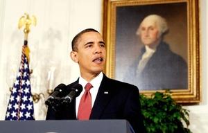 El líder de la nación más poderosa es el hombre que encabeza la lista, Barack Obama.