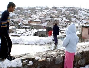 En 40 municipios del estado de Chihauhua las temperaturas se encuentran debajo de los ceros grados centígrados, Juárez tiene menos dos, El poblado de El Vergel, en el municipio de Balleza menos 8 grados centígrados.