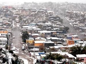 La nevada afectó a otros 16 municipios de la entidad, sobre todo en la zona noroeste y suroeste del estado de Chihuahua.