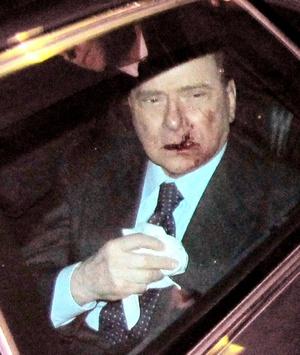 El presidente italiano Giorgio Napolitano llamó a detener 'toda forma de violencia política' en el país, luego de que la víspera el primer ministro, Silvio Berlusconi, fue agredido en Milán.