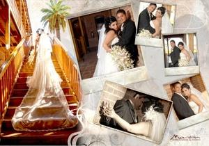Lic. Lilia Beatriz Alvarado Arellano y Lic. Edgardo Marín Díaz, unieron sus vidas en sagrado matrimonio, en el Santuario Cristo Rey, en el Cerro de las Noas, el ocho de agosto de 2009, en punto de las 19:00 horas.  <p> <i>Estudio Morán</i>