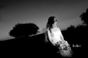 Srita. Guillermina Márquez de la Mora el día de su enlace matrimonial con el Sr. Joab Adolfo de la Rosa Rivera. <p> <i>Estudio Lemotions </i>