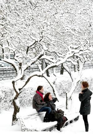 La nevada registrada en Rusia añadió una capa de 25 centímetros de espesor a la nieve ya existente.