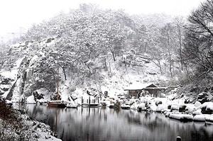 En la localidad de Cheolwon, a 60 kilómetros al noroeste, el termómetro marcaba -20.4 grados centígrados.