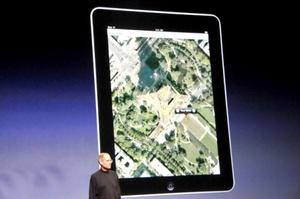 El ejecutivo no dio información sobre el precio o la fecha de distribución de la iPad.