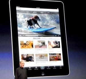 Una computadora tipo 'tablet' con un solo botón y un teclado en pantalla, que brindará una experiencia más 'íntima' que otros ordenadores portátiles.