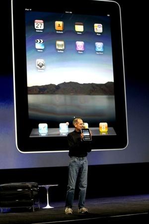 El iPad es un híbrido entre un ordenador y un teléfono inteligente.