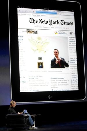 El 'iPad' espera revolucionar el mercado informático.