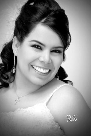 03012010 Srita. Valeria Reyes Zapata, el día que contrajo matrimonio con el Sr. Raúl López García.- Rofo Fotografía
