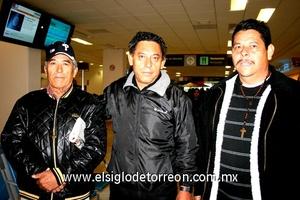 06022010 México. Pedro Valdés, Antonio Juan Marcos y Javier Villarreal.