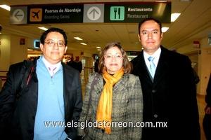 06022010 Distrito Federal. Lauro Echavarría fue despedido por María Eugenia Lavín y Alejandro Echavarría.