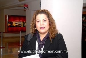 15022010 Chihuahua. Ana Limón García realizó un viaje de negocios.