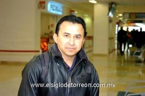 16022010 Distrito Federal. Gaspar Díaz llegó a casa.
