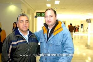 16022010 México. Javier Lenoir fue recibido por Daniel Balverde.