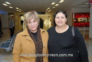 17022010 Distrito Federal. Juanita Segura y Lupita Carrillo.