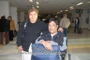 17022010 México. María del Refugio Mejía y Sergio Alvarado.