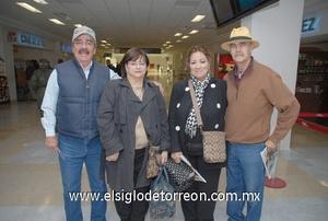 22022010 México. Rafael Álvarez, Lula de Álvarez, Rosario de Acosta y Carlos Acosta.