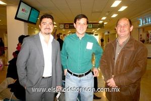 26022010 Distrito Federal. Eduardo Acosta, Javier Robles y Gerardo Mafud.