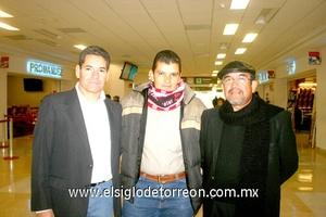 26022010 México. Juan Antonio Andrade, Pedro García y Juan Padilla.
