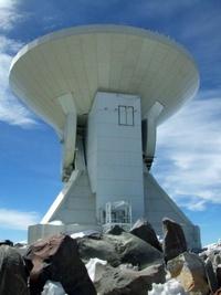 Gran Telescopio Milimétrico (GTM), el proyecto científico más ambicioso de las últimas décadas, instalado en Puebla (México). El telescopio permitirá investigar asuntos tan profundos como el origen del Universo y vigilar las trayectorias de asteroides, comenzará a operar este año y costó unos 124 millones de dólares, según fuentes oficiales.