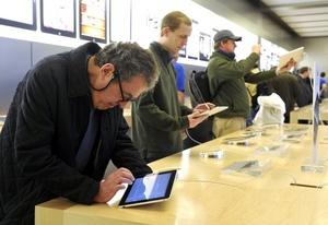 Aún no está claro cuál será el precio del iPad en Europa, donde saldrá a la venta a finales de abril.