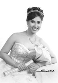 MCP. Betty Turcios Esquivel captada el día de su boda con el MIB. Antonio Seáñez de Villa. <p> <i>Studio Sosa </i>