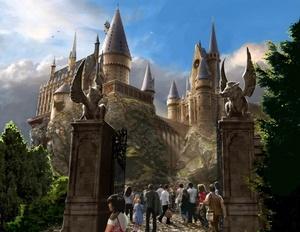 Asi lucirá  el nuevo Castillo de HOGWARTS  que será un parque de diversiones abierto al publico, en donde el ambiente superará generaciones y traerá la maravilla y la magia de los libros de Harry Potter increíblemente detallados y películas a la vida.