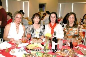 Anilú, Nayeli, Susana y Laura.