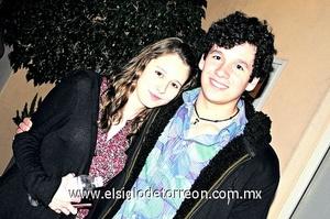 Jorge Villarreal y Pamela Hernández.